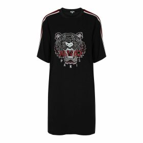 Moncler Coral Logo-appliquéd Wool-blend Jumper