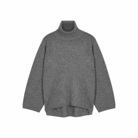 Totême Cambridge Grey Wool-blend Jumper
