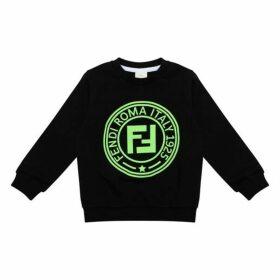 Fendi Neon Logo Sweatshirt