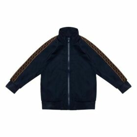 Fendi Zip Up Top Navy 6yr - 8yr