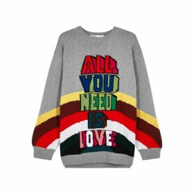 Stella McCartney X The Beatles Intarsia Wool Jumper