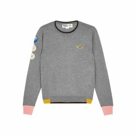 Stella McCartney X The Beatles Grey Fine-knit Jumper