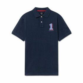 Hackett Cotton Short-sleeved Polo Shirt