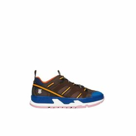 Burberry Nylon And Mesh Union Sneakers