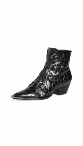 Schutz Lisbay Buckle Boots