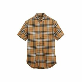 Burberry Short-sleeve Vintage Check Shirt