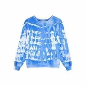 Wildfox Shibori Tide Fiona Tie-dye Sweatshirt