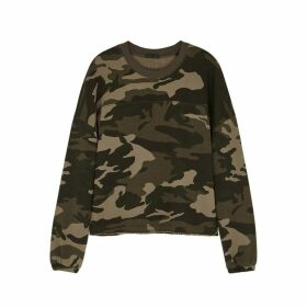ATM Anthony Thomas Melillo Camouflage-print Cotton Sweatshirt