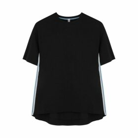 No Ka 'Oi Game Striped Stretch-jersey T-shirt