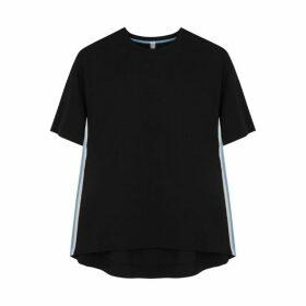 No Ka 'Oi Game Striped Stretch-jersey T-shirt