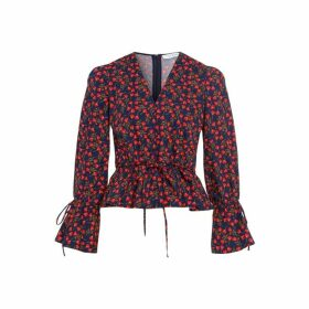 Ivy & Oak Liberty London Ruffle Blouse