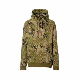 Burberry Monogram Print Cotton Hoodie