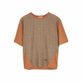 Chloé Printed Stretch-jersey T-shirt