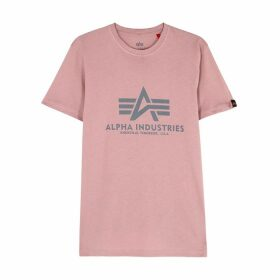 Alpha Industries Rose Logo-print Cotton T-shirt