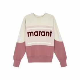Isabel Marant Étoile Gallian Panelled Cotton-blend Sweatshirt