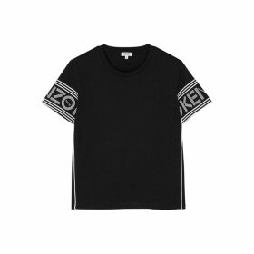 Kenzo Black Logo-print Cotton T-shirt