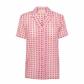 Lisou Victoire Silk Voile Printed Shirt