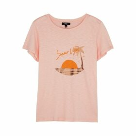 Paige Ellison Printed Jersey T-shirt