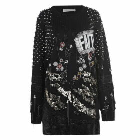 Faith Connexion Punk Sweater Dress