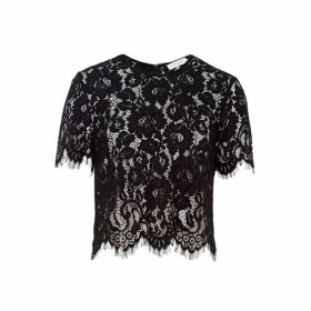 Ivy & Oak Boxy Lace Top