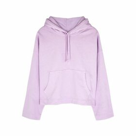 Acne Studios Lilac Hooded Cotton Sweatshirt