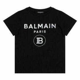 Balmain Glitter Logo T-shirt