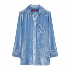Sies Marjan Sander Blue Corduroy Shirt