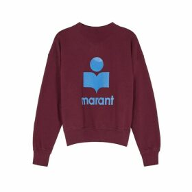 Isabel Marant Étoile Moby Logo Cotton-blend Sweatshirt