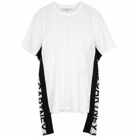 Stella McCartney White Logo Cotton T-shirt