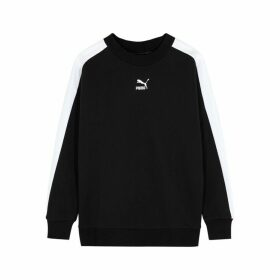 Puma Black Cotton Sweatshirt