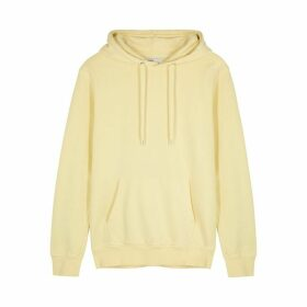 COLORFUL STANDARD Yellow Hooded Cotton Sweatshirt