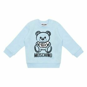 MOSCHINO Pale Blue Sweatshirt