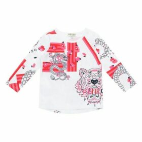 Kenzo Baby Girl Long Sleeve Top