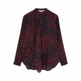 Stella McCartney Kiera Printed Silk Blouse