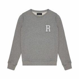 Riley Studio - Redone Sweatshirt in Grey