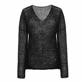 INGMARSON - Henley Silk Stripe Neck Scarf Orange