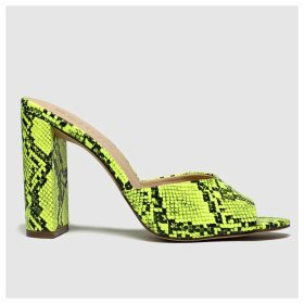 Schuh Yellow In The Know High Heels