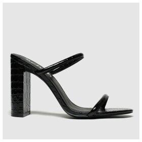 Schuh Black Uptown High Heels