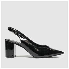 Schuh Black Beam Low Heels