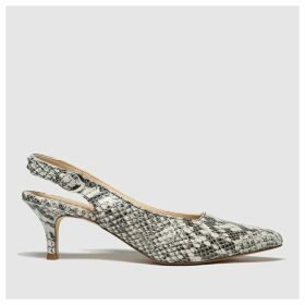 Schuh Black & White Impression Low Heels