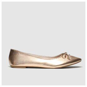 Schuh Bronze Sweetheart Flat Shoes