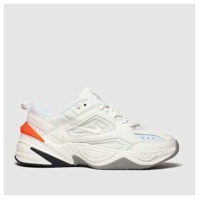 Nike White & Grey M2k Tekno Trainers