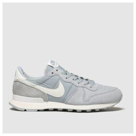Nike Light Grey Internationalist Trainers