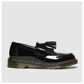 Dr Martens Black Adrian Flat Shoes