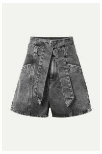 IRO - Voukko Belted Denim Shorts - Black