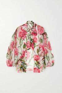 Nili Lotan - Camouflage-print Cotton-jersey Tank - Army green