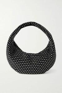 Rokh - Tie-dyed Cotton-poplin Shirt - Bright pink