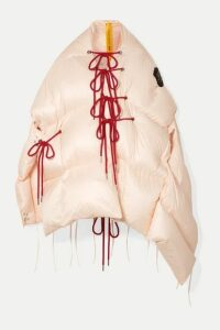 Moncler Genius - + 4 Simone Rocha Shari Lace-up Quilted Shell Jacket - Beige