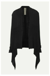 Rick Owens - Draped Wool Cardigan - Black