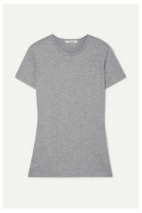 Adam Lippes - Pima Cotton-jersey T-shirt - Gray